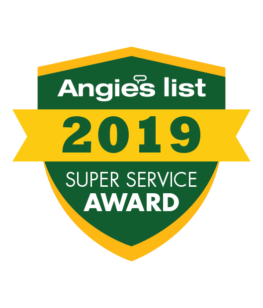 Angies List Super Service Award Winner, 2019