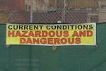 Dangerous & Hazardous Conditions at Pilgrim Baptist Church