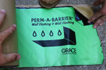 High-Quality W. R. Grace Perm-A-Barrier Flashing
